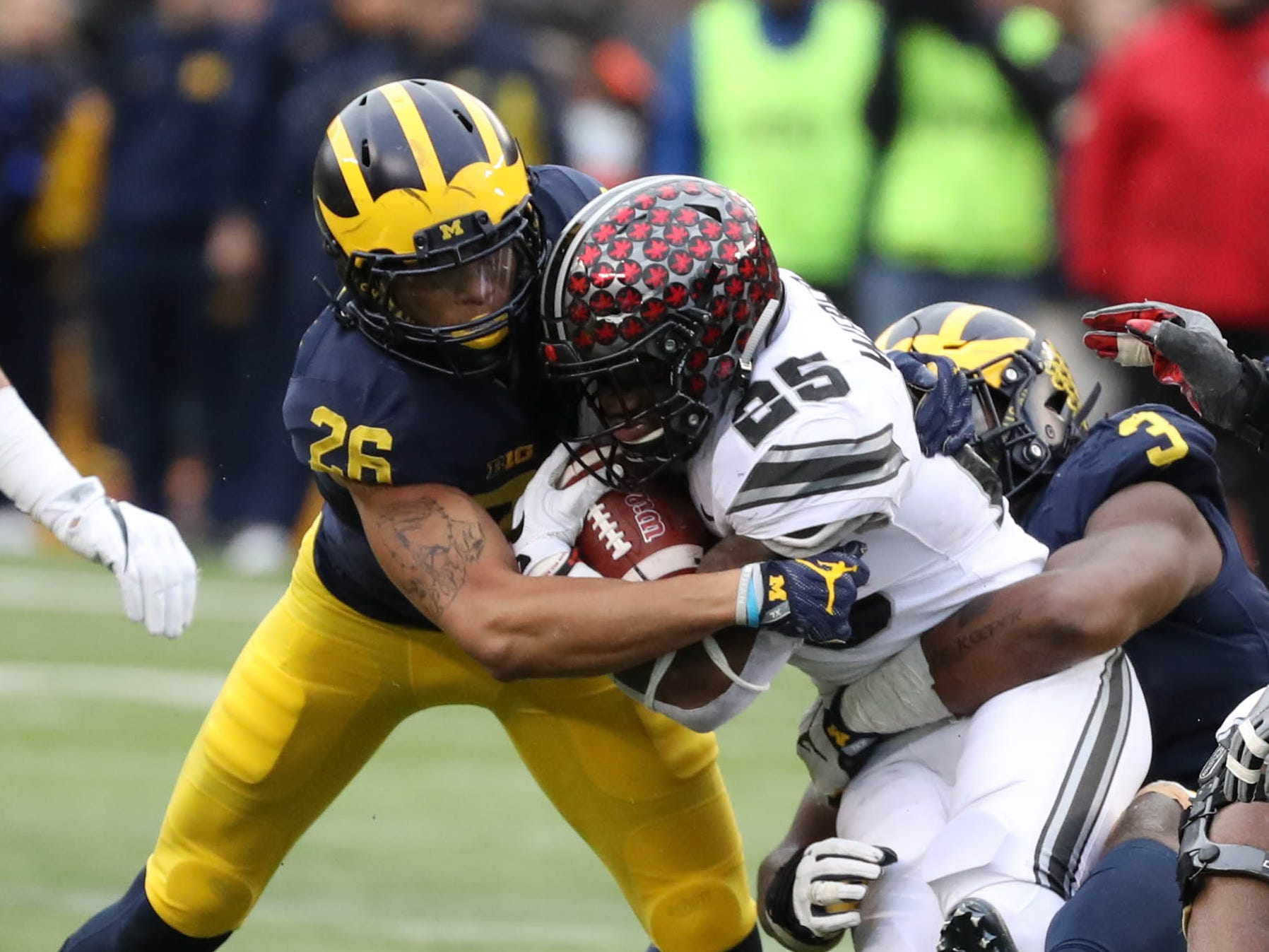 2. Michigan at Ohio State. When: Nov. 24. Where: Columbus, Ohio. The buzz: Do we even need to explain our ranking on this one?