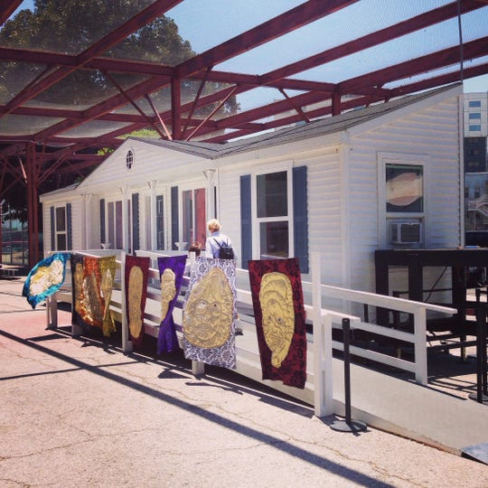 """Mike Kelley's """"Mobile Homestead"""" is bound for Waterford this weekend."""
