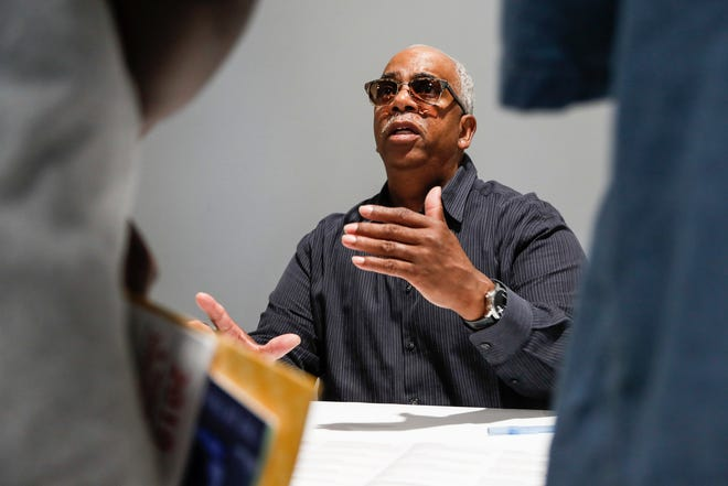 Percy Johnson, 65 of Troy, is organizing a job fair for formerly incarcerated people at Liberty Temple Baptist Church in Detroit, this Saturday. He'll host another job fair in August.