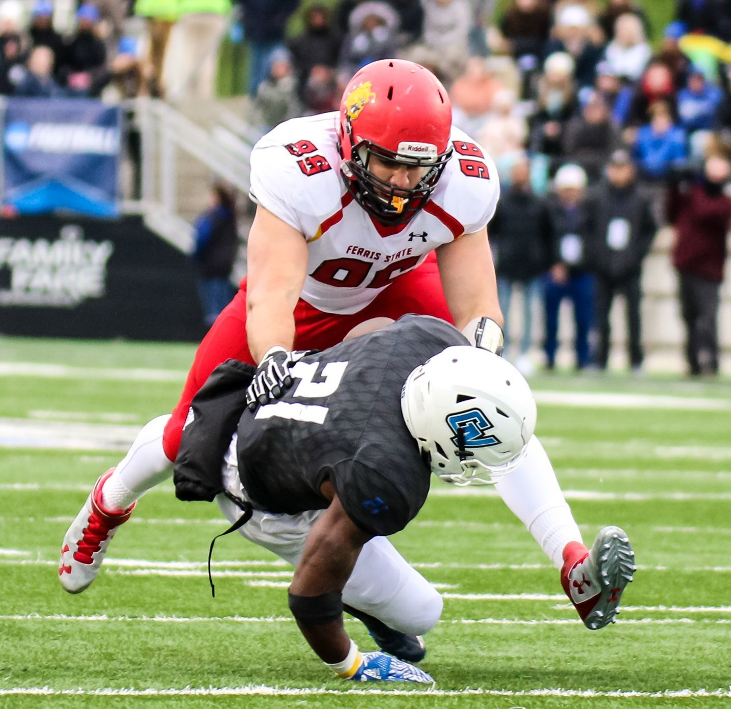 9. Ferris State at Grand Valley State. When: Oct. 13. Where: Allendale. The buzz: Known as the Anchor-Bone Classic, this is one of the most heated rivalries in the state. Last season, Ferris State scored a late touchdown to win, 28-27.