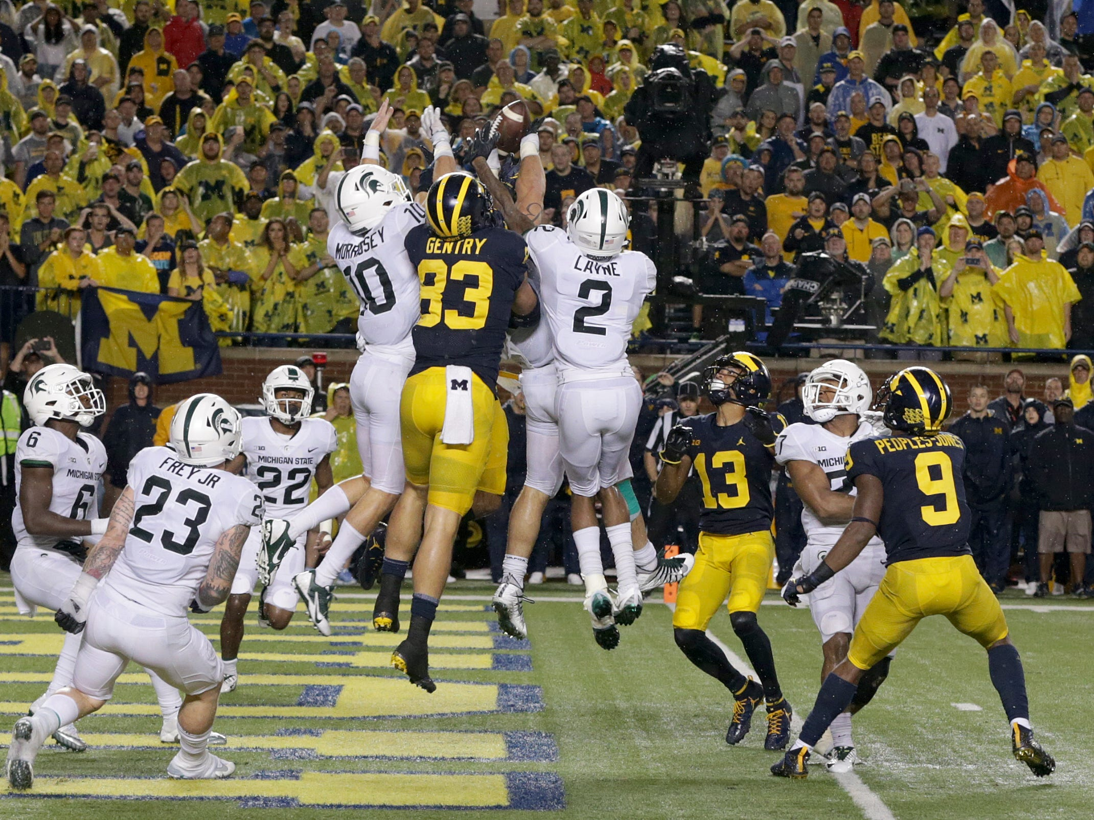 1. Michigan at Michigan State. When: Oct. 20. Where: East Lansing.  The buzz: The Spartans have dominated this series the past 10 years, winning eight of the 10 contests.