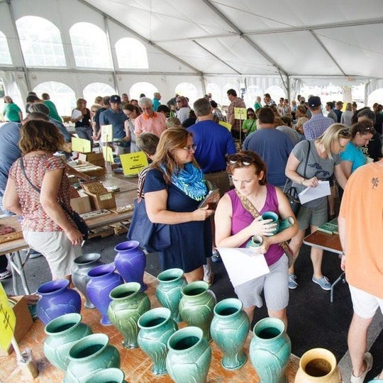 Pewabic's summer sale is members-only on Saturday and open to the public Sunday.
