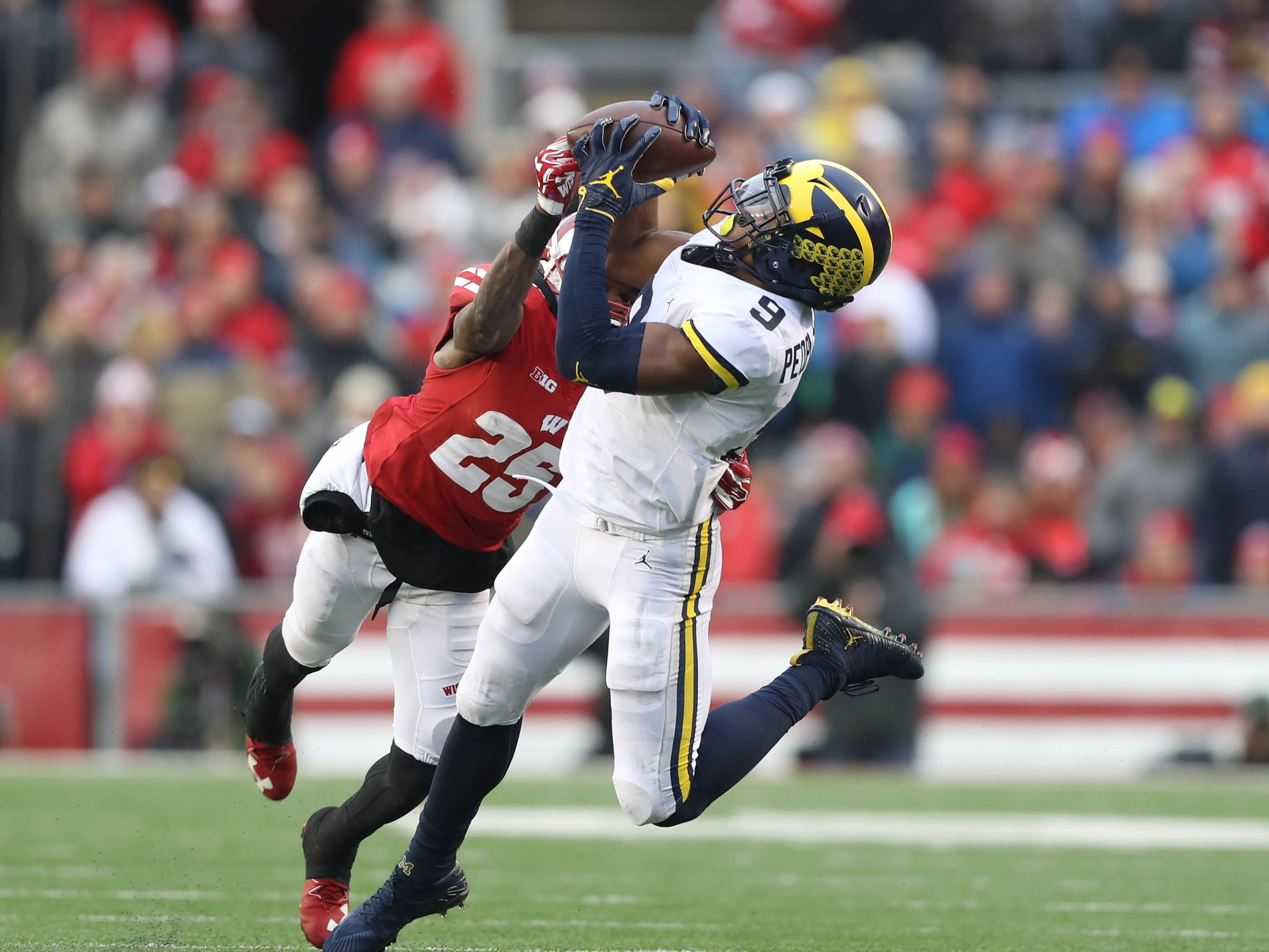 10. Wisconsin at Michigan. When: Oct. 13. Where: Ann Arbor. The buzz: Last year, the Wolverines had the undefeated Badgers on the ropes with a three-point lead in the in third quarter. But Wisconsin came storming back for a 24-10 win.