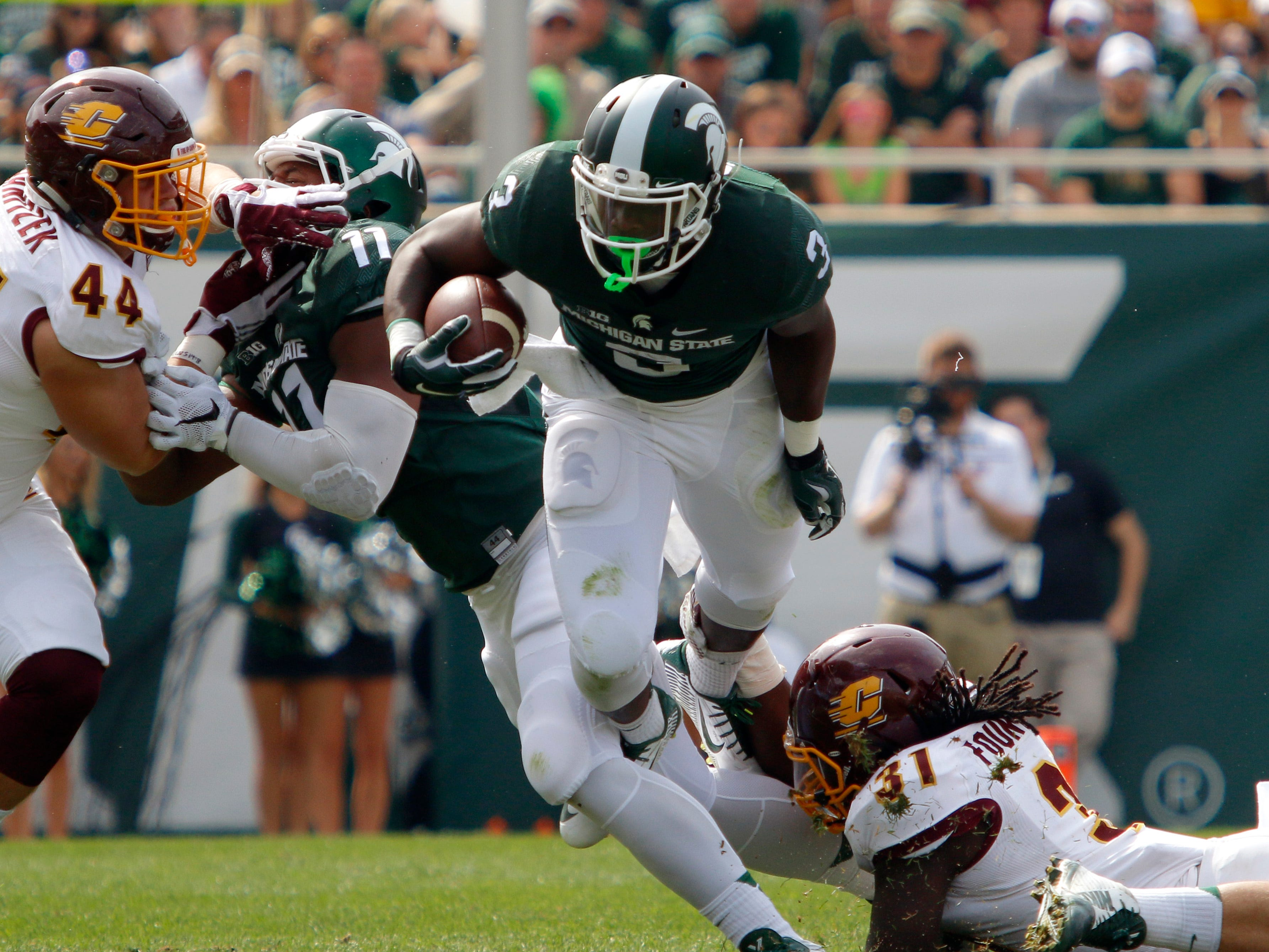 18. Central Michigan at Michigan State. When: Sept. 29. Where: East Lansing. The buzz: The Chippewas have been known to be upset-minded (i.e. Oklahoma State 2016) but they will have to be on top of their game against the Spartans.