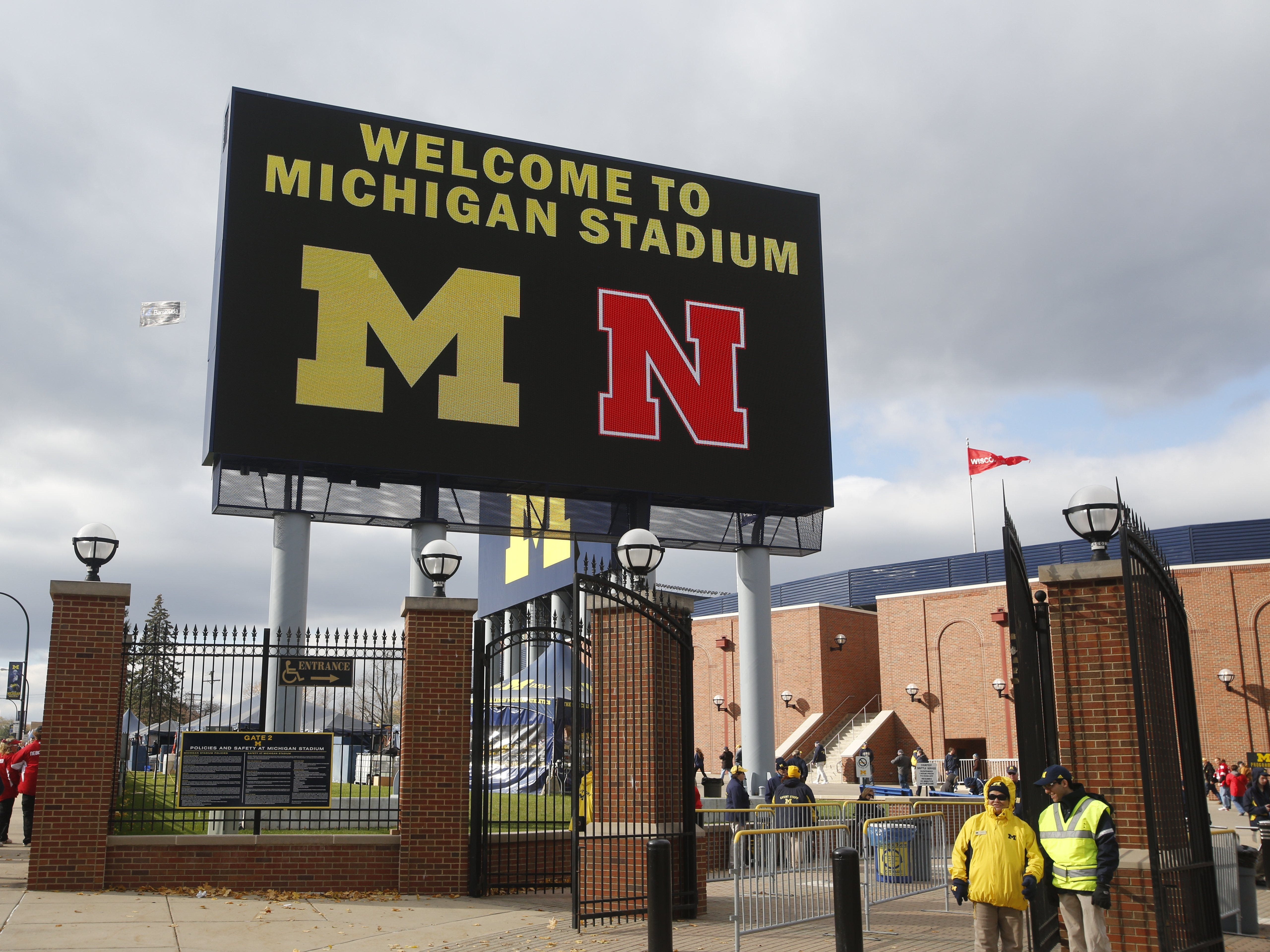 13. Nebraska at Michigan. When: Sept. 22. Where: Ann Arbor. The buzz: The Cornhuskers haven't visited the Big House since 2013 when they won 17-13. This year's game could prove huge in the Big Ten race.