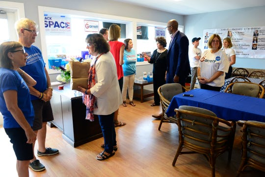 The Sandusky County Democratic Party county-wide office located at 1876 E. State Street in Fremont opened on Saturday.