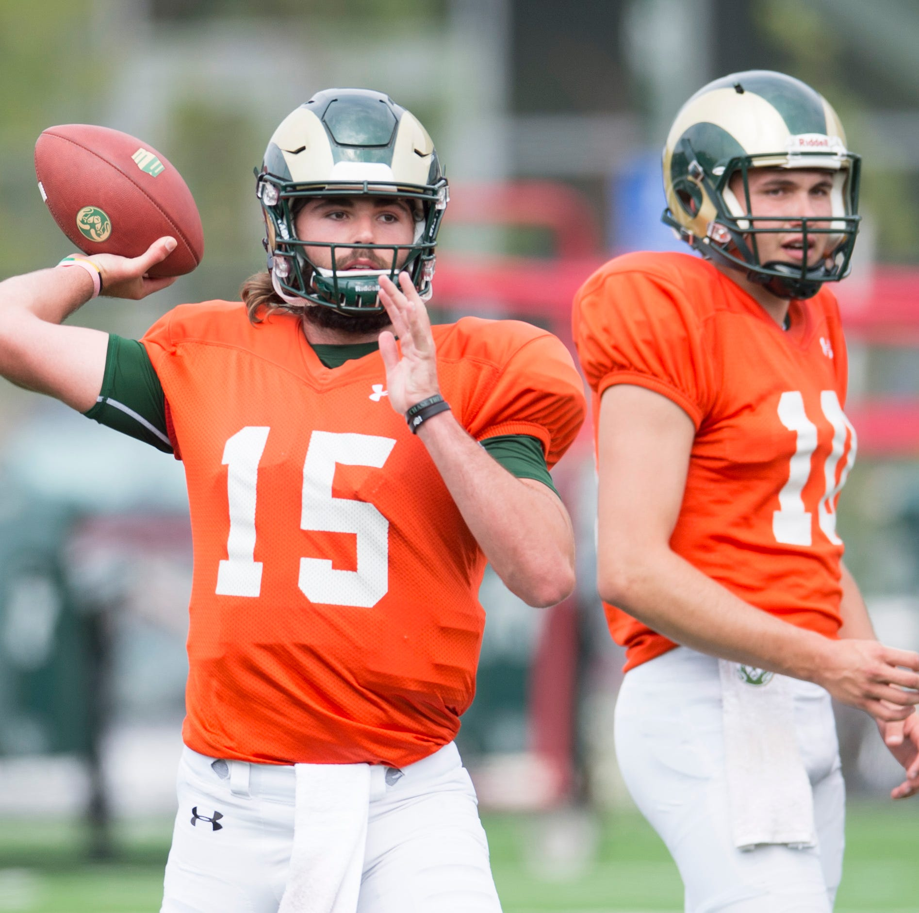 Takeaways from CSU football scrimmage: Collin Hill's progress continues, defense steps up