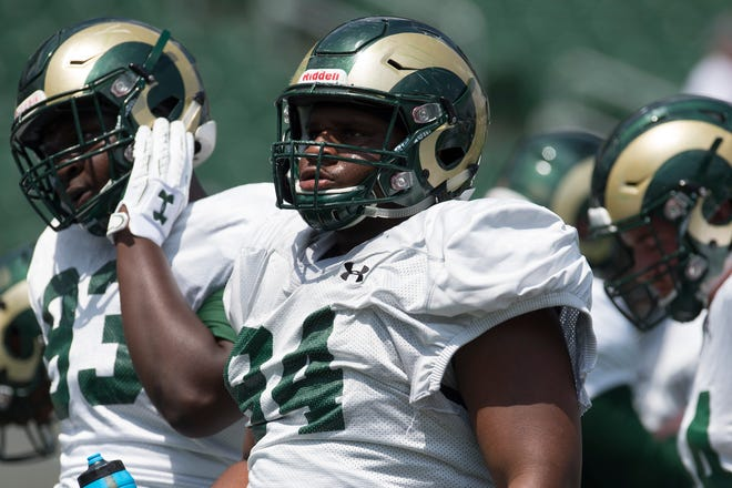 CSU defensive lineman Devin Phillips will likely play a big role as a freshman in 2018.