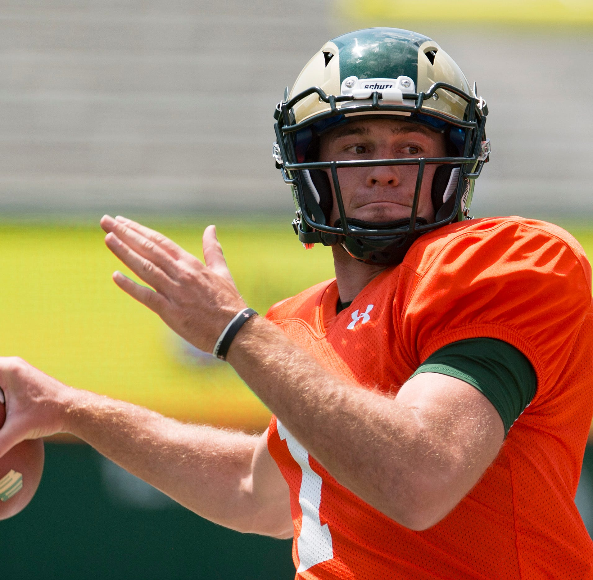New Colorado State QB K.J. Carta-Samuels ready to roll