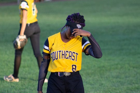 The Southeast Senior softball team, comprised of players from Cape Coral and Greater Fort Myers Little League, fell to Asia-Pacific 3-1 in the Senior League World Series quarterfinals Friday night.