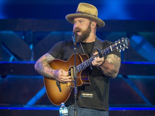 Zac Brown performs with Zac Brown Band Friday at Ruoff Home Mortgage Music Center.