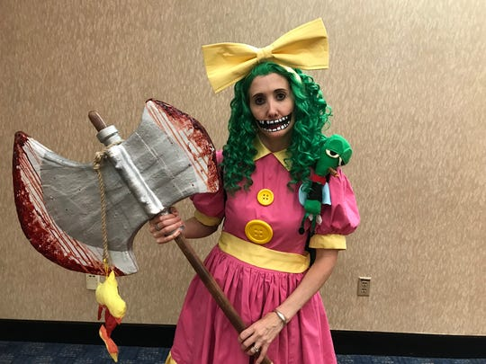 "Crystal Trezza brought out the angst and anger in her character Gertrude from the ""I Hate Fairyland"" comic."