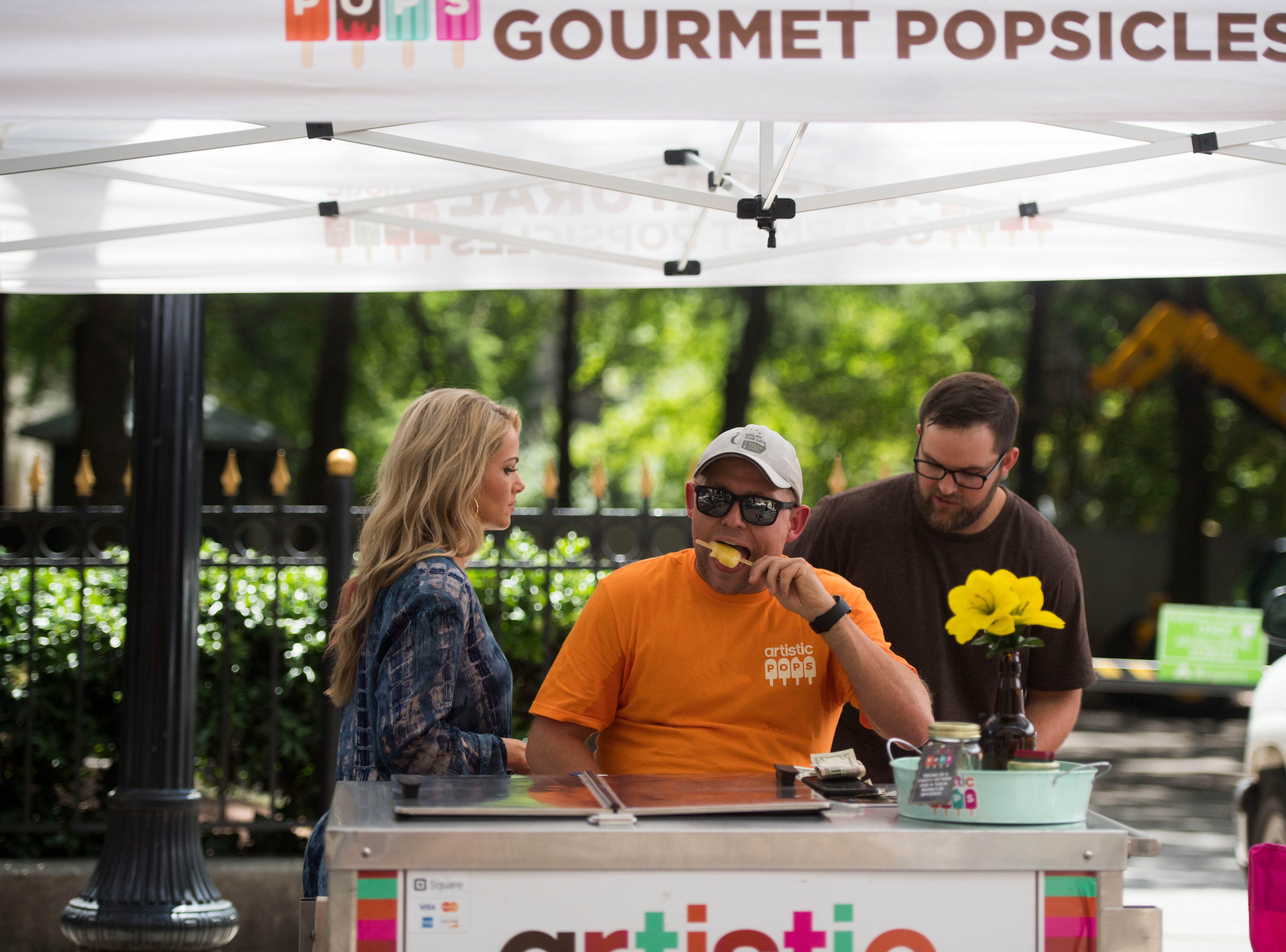 Artistic Pops are gluten free, nut free, and dairy free.