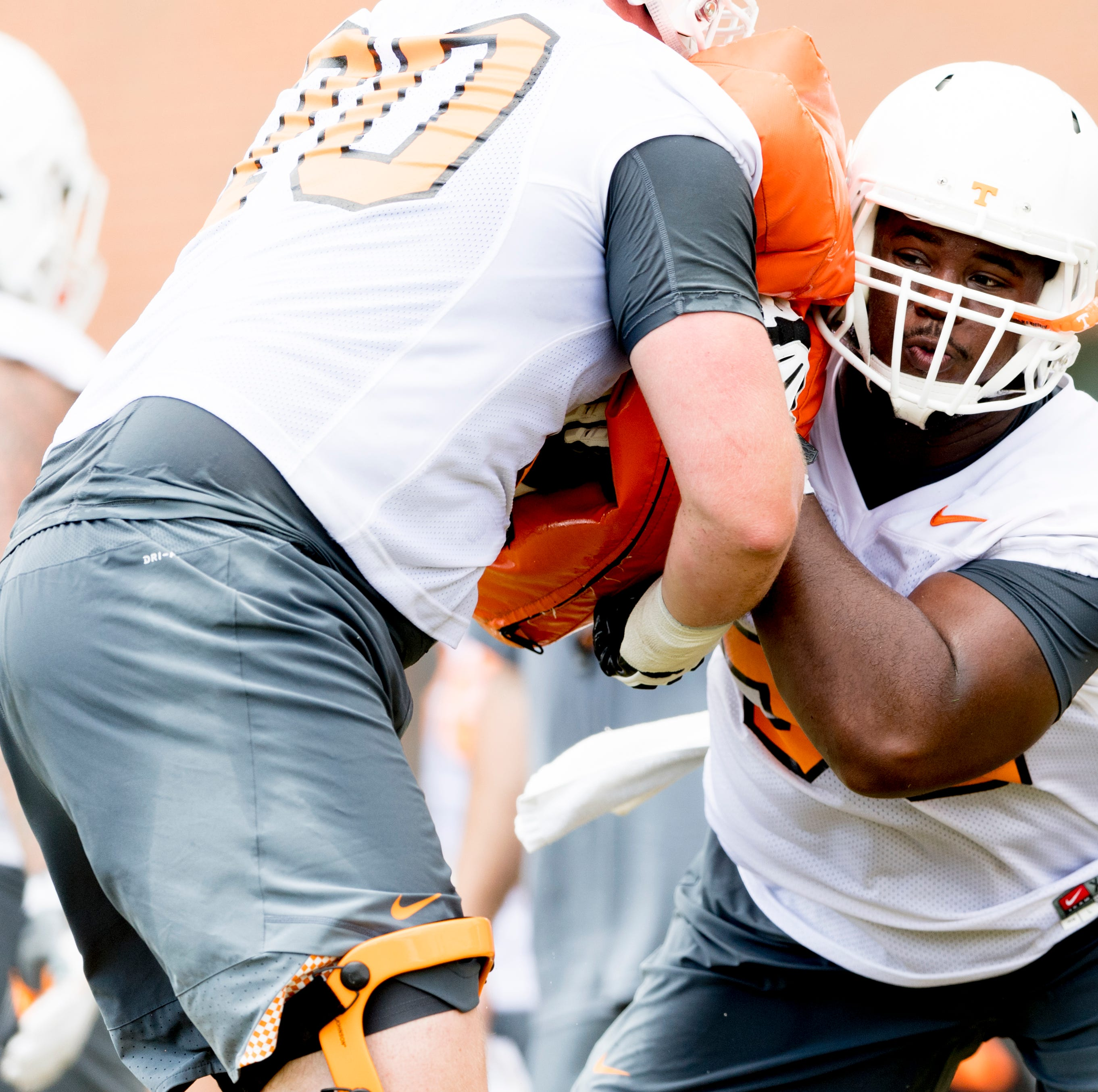 Jeremy Pruitt: Offensive line 'kind of dominated' second UT Vols scrimmage