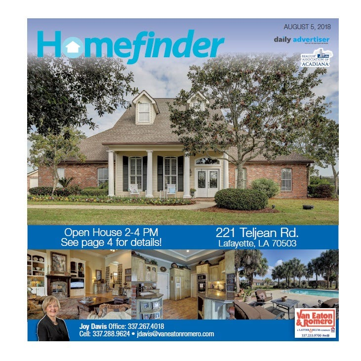 Homefinder: Aug. 5, 2018