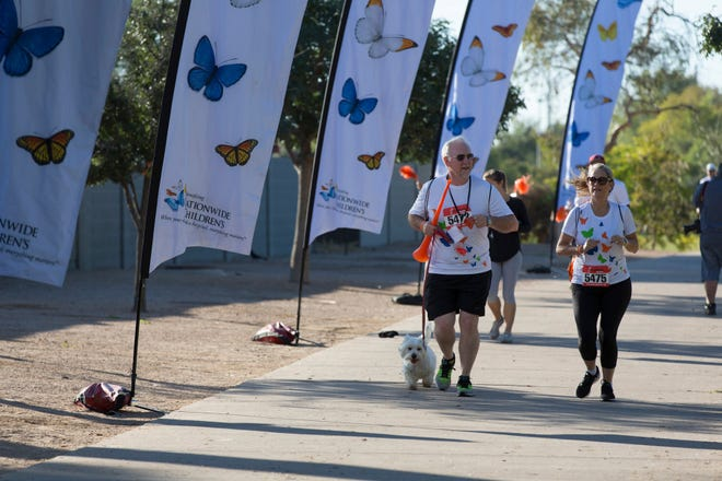 Photo from last year's Butterfly Run event in Arizona.