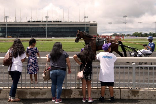 Hambletonian Day at the Meadowlands on Saturday, August 4, 2018.