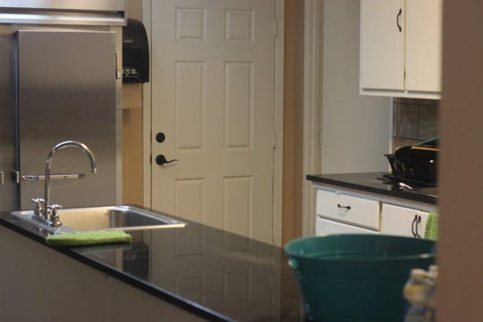 The kitchen at Carlsbad LifeHouse's sober-living home for women,  Aug 3, 2018 at the house on Tulip Street.