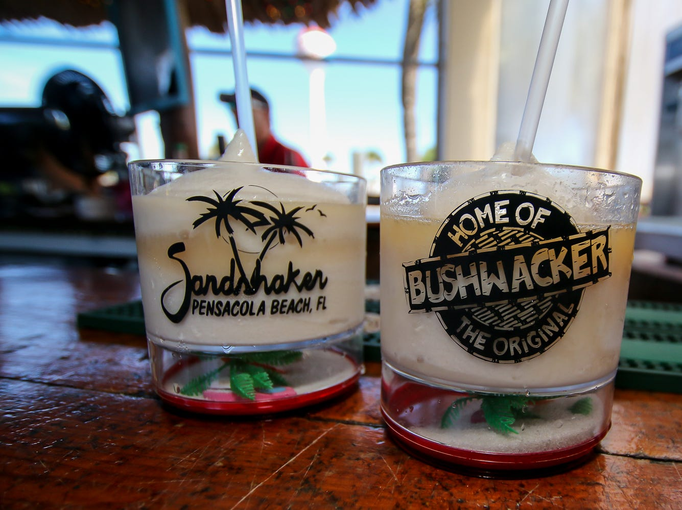 The Bushwacker Festival at the Sandshaker Lounge on Pensacola Beach on Saturday, August 4, 2018.