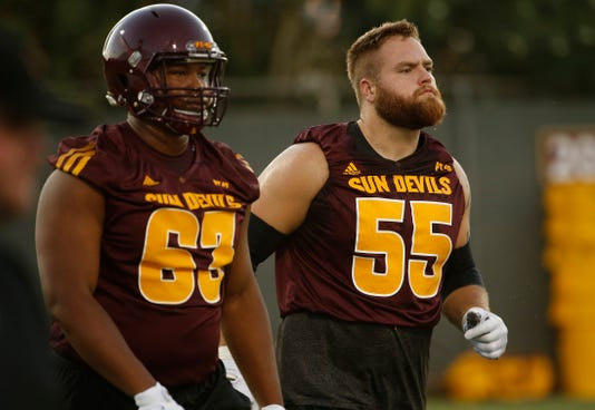 sports shoes 4d8e0 13c9d ASU football: OL Casey Tucker gets shots at his former team ...
