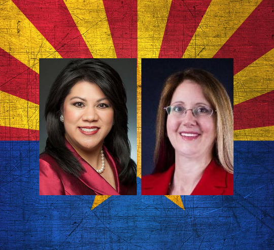 Kimberly Yee (left) and Jo Ann Sabbagh
