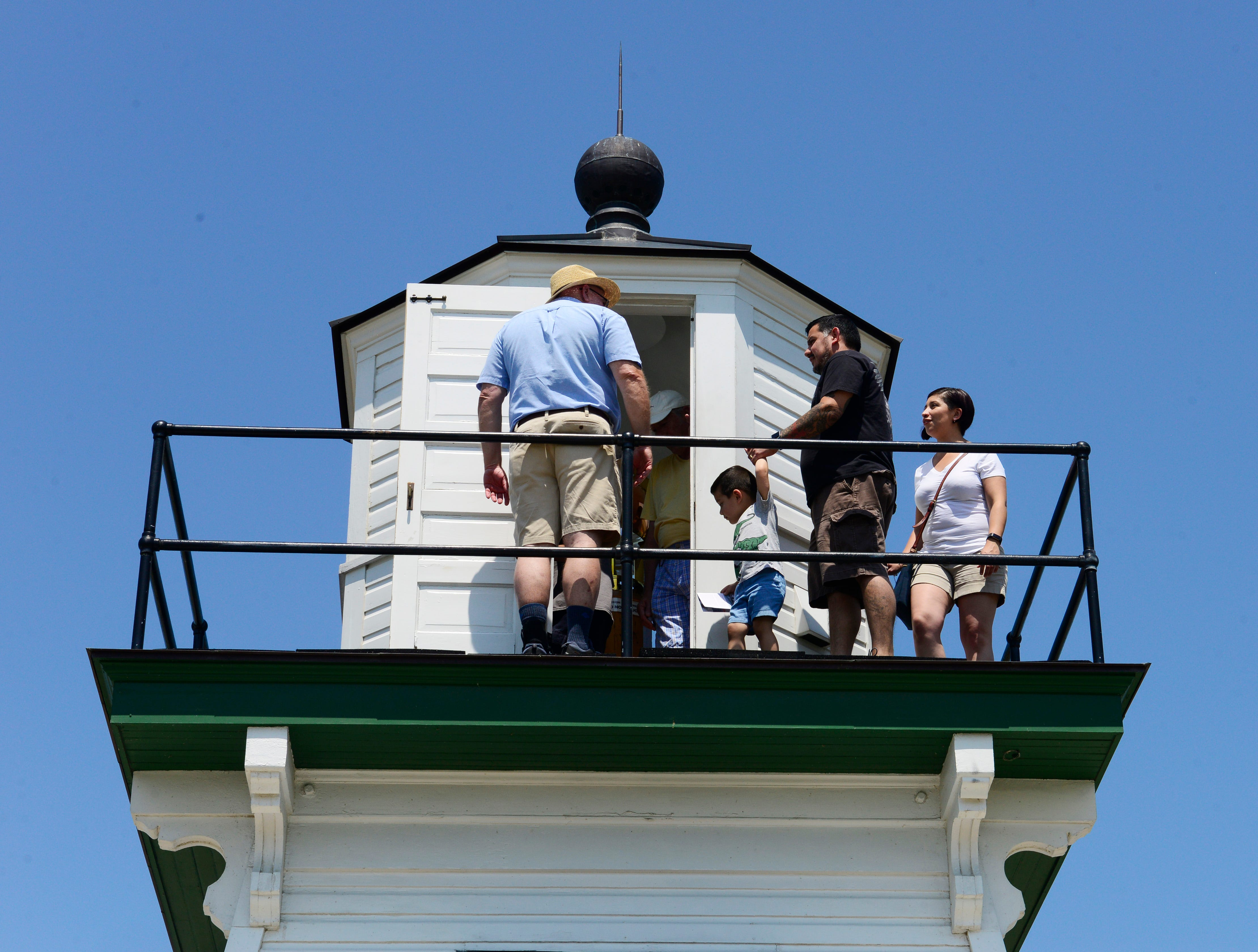 Port Clinton celebrated the second annual Lighthouse Festival on Saturday afternoon with lighthouse tours.