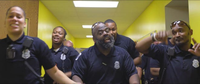 """York City School Police performs Montell Jordan's """"This is How We Do It"""" in a #LipSyncChallenge released this weekend."""