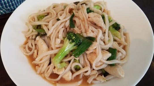 Thai Chicken Coconut Noodle