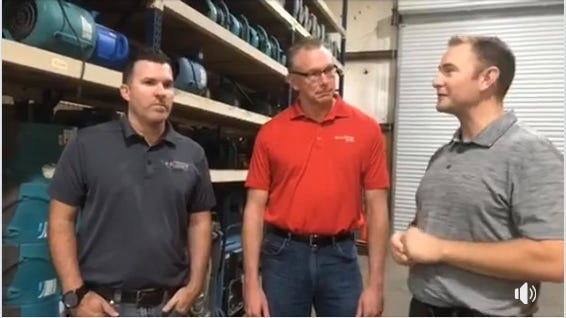 This is a screenshot of a Facebook video by the Redding Chamber of Commerce.