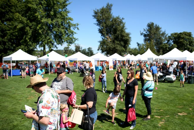 Thousands attend the Riverfront Family Fest at Riverfront Park in Salem on Saturday, Aug. 4, 2018.