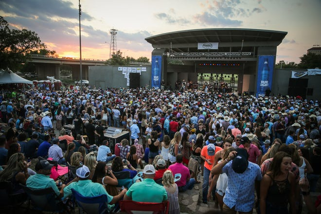 Fans attend the Wild West Fest Friday, Aug. 3. 2018, at Bill Aylor Sr. Memorial RiverStage.