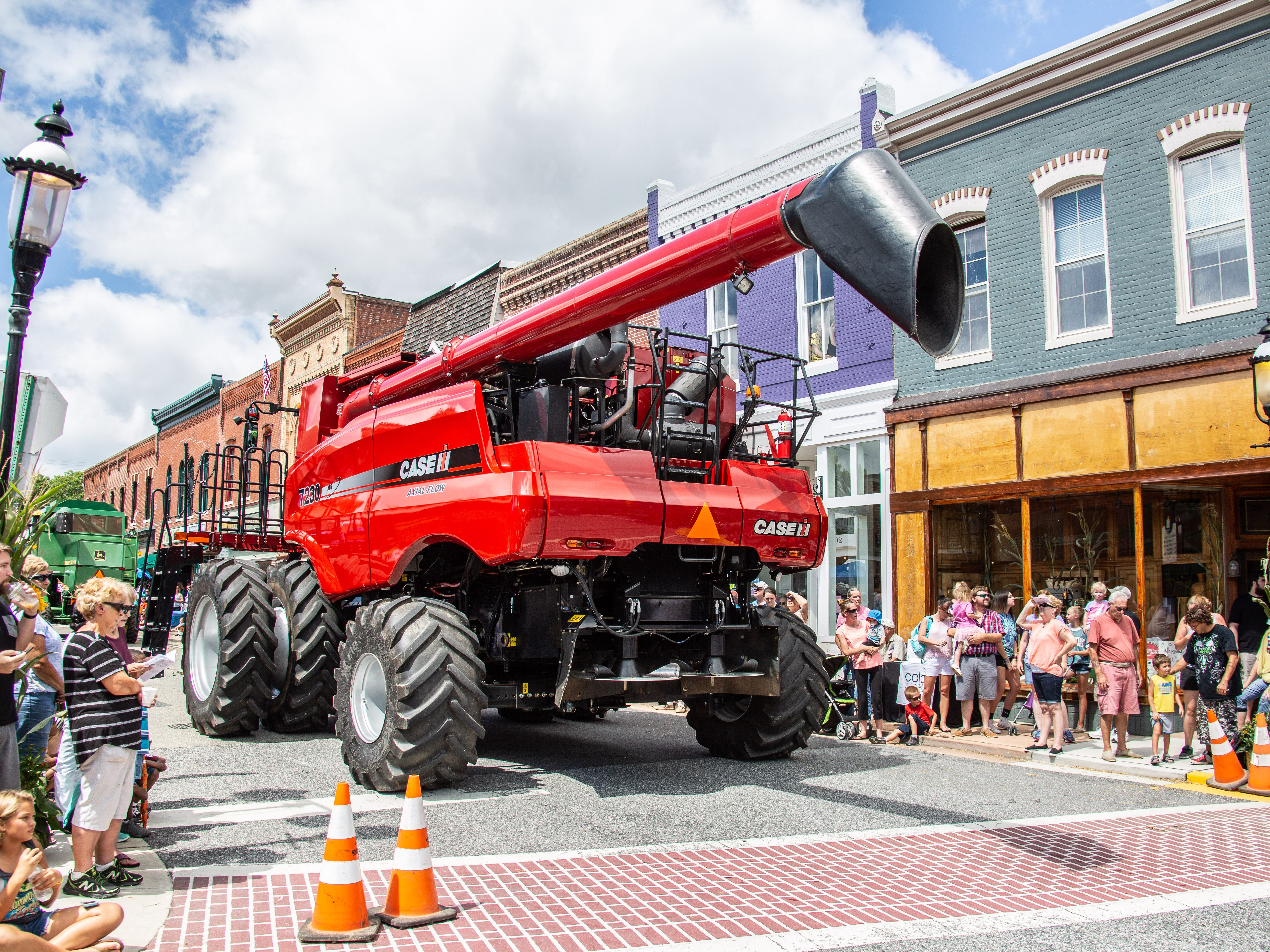 Snow Hill's annual Blessing of the Combines honors Delmarva's  farmers.