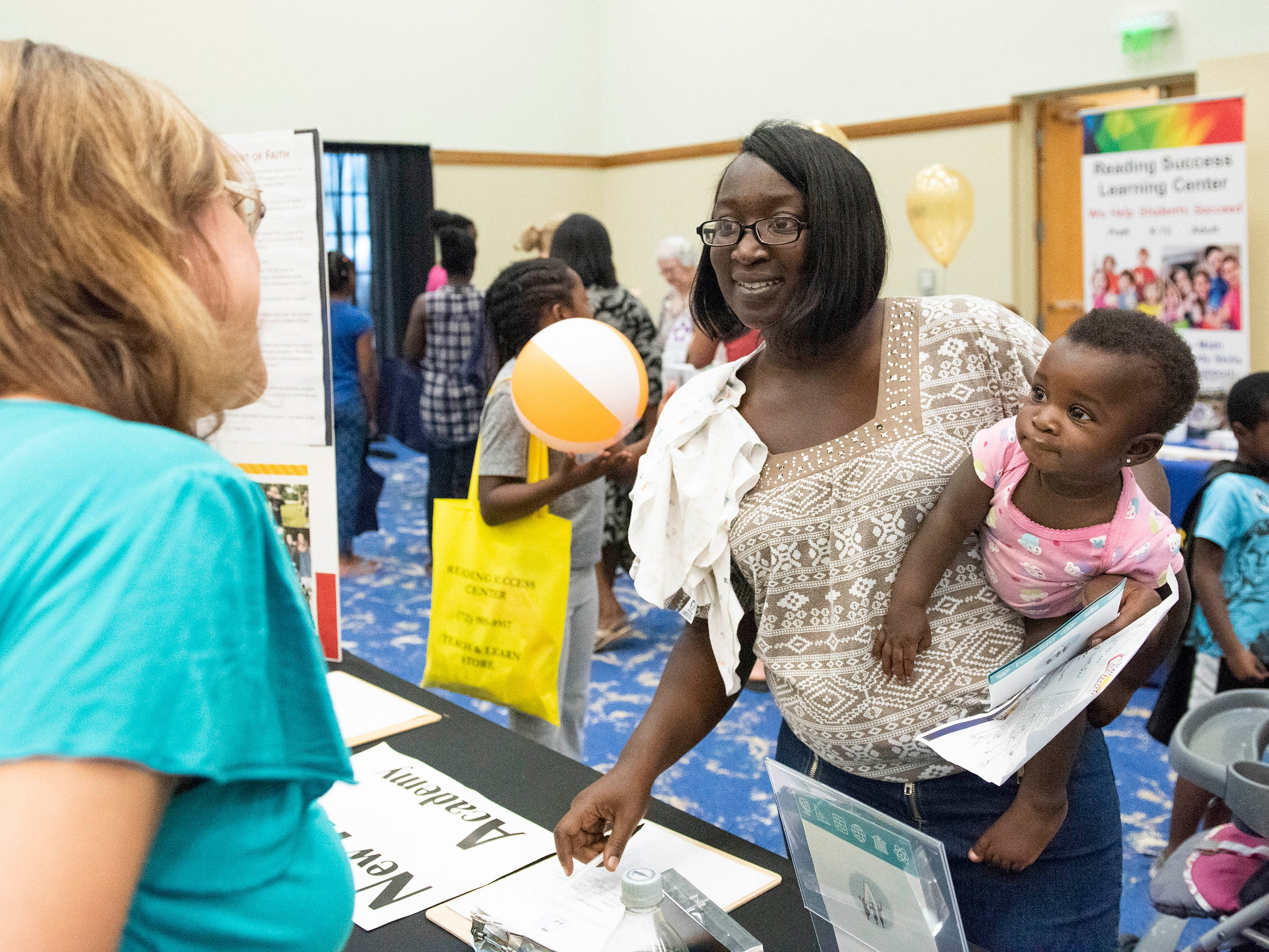 The Back to School Family Expo was held on Saturday, August 4, 2018, at the Port St. Lucie Civic Center in Port St. Lucie. The event included many family-oriented and educational vendors, food trucks, musical entertainment, dance performances and arts and crafts activities.