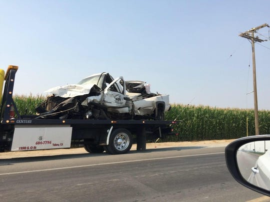 CHP officers are investigating what led to a deadly collision just outside of Tulare.