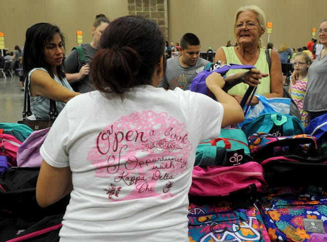 Project Back to School is set for Aug. 7 at the MPEC in Wichita Falls