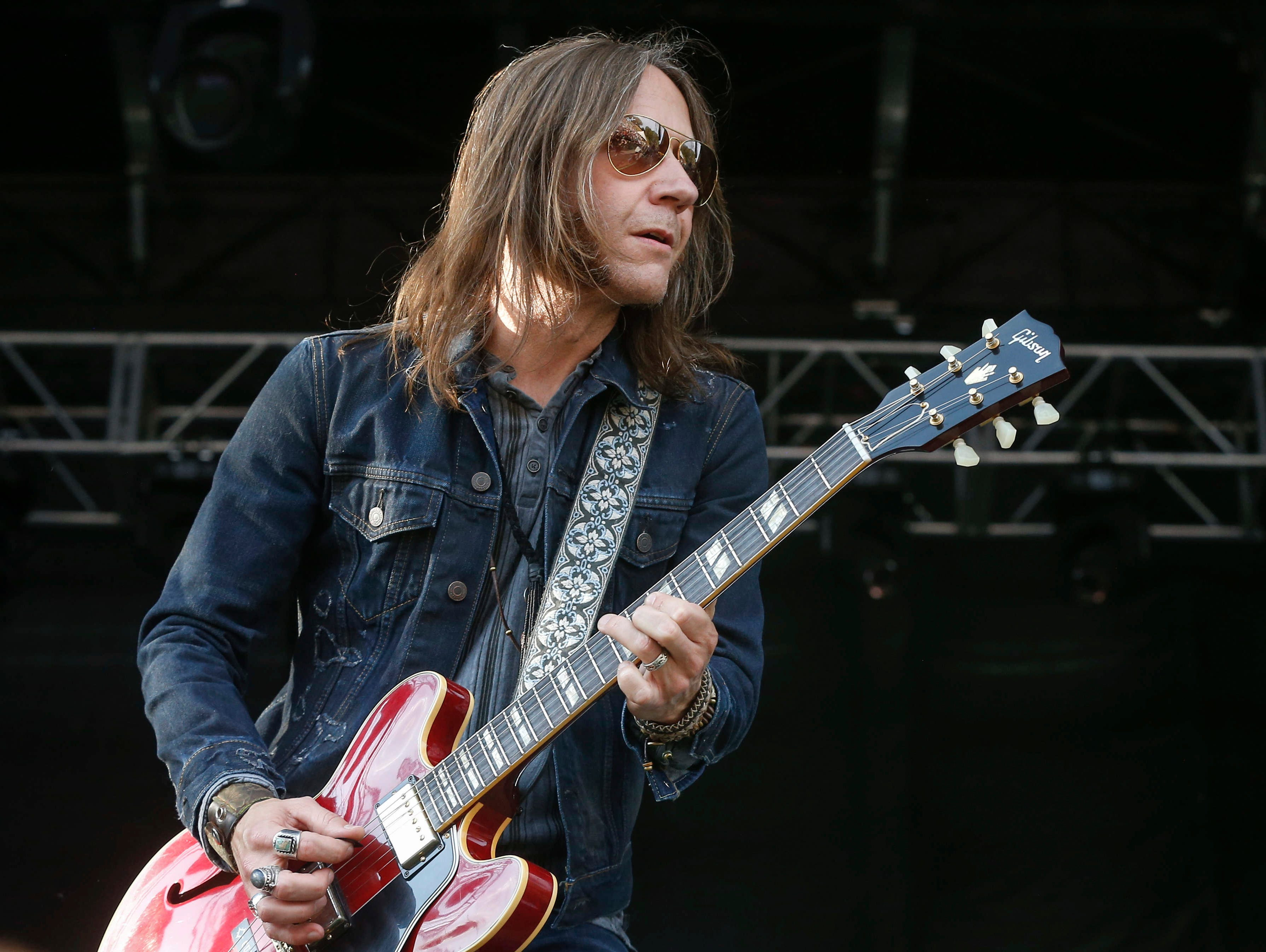 Blackberry Smoke lead vocalist Charlie Starr performs on Saturday, Aug. 4, 2018, during the Hinterland music festival in St. Charles.