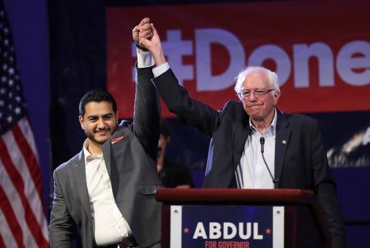 Abdul El Sayed Bernie Sanders
