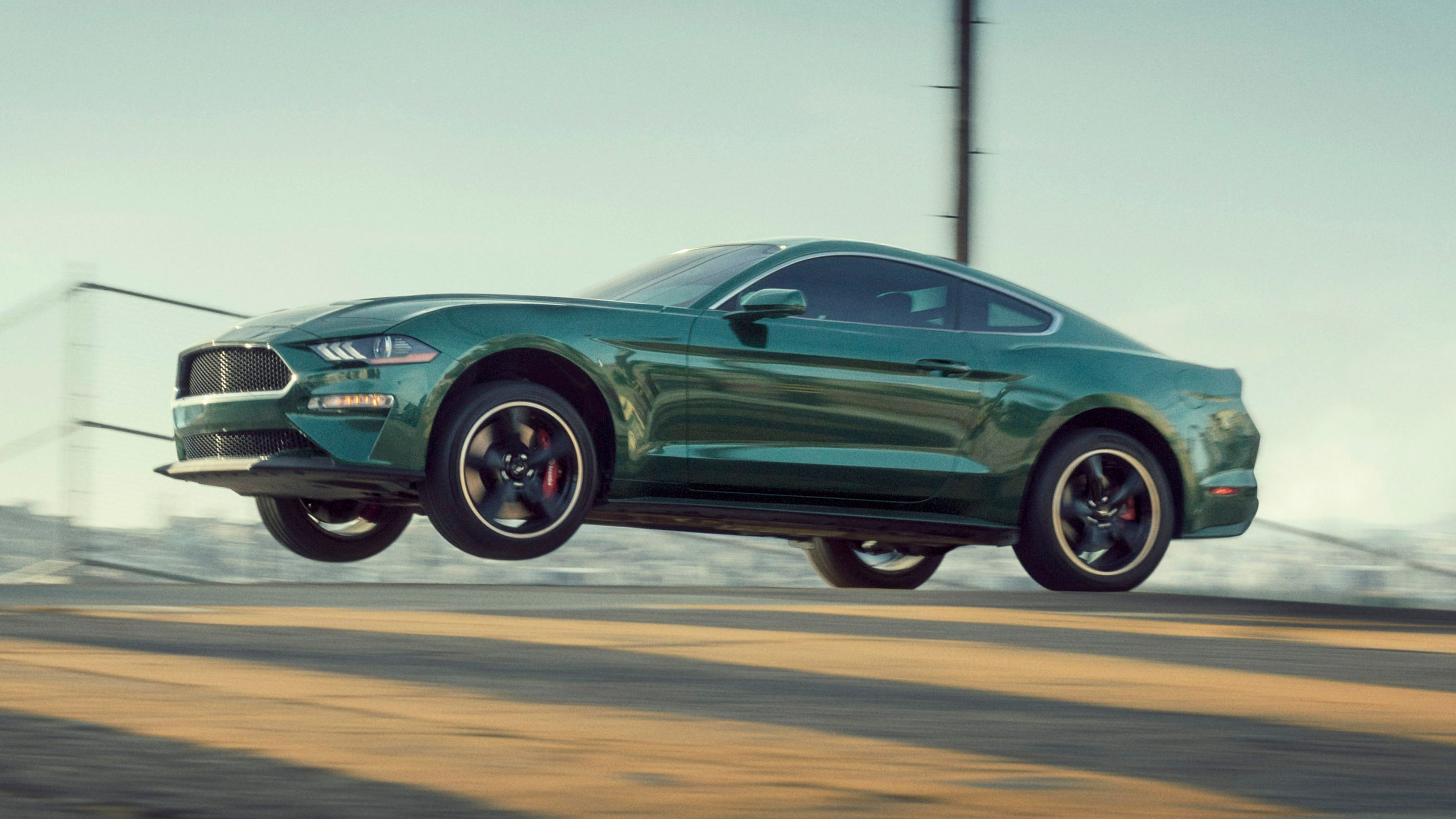 first drive 2019 mustang bullitt chases legends in san francisco. Black Bedroom Furniture Sets. Home Design Ideas