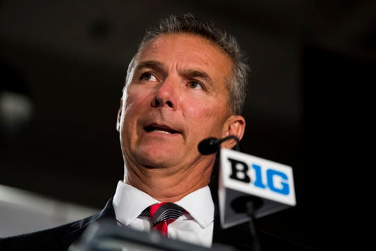 Ohio State head coach Urban Meyer is facing allegations he turned a blind eye to domestic abuse allegations of a former assistant coach.