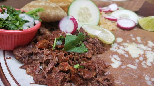 Birria at El Paisano is succulent beef simmered with a fragrant collection of warm, sweet spices.