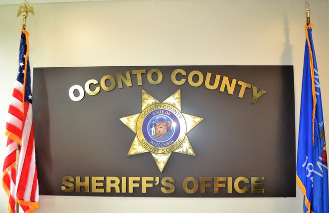 Oconto County Sheriff's Office sign