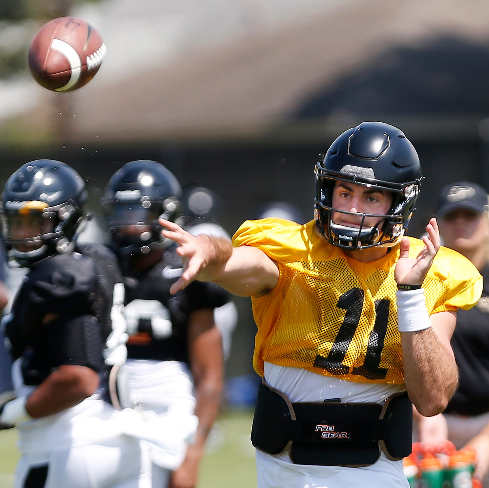 Does David Blough remain Purdue's starting quarterback?