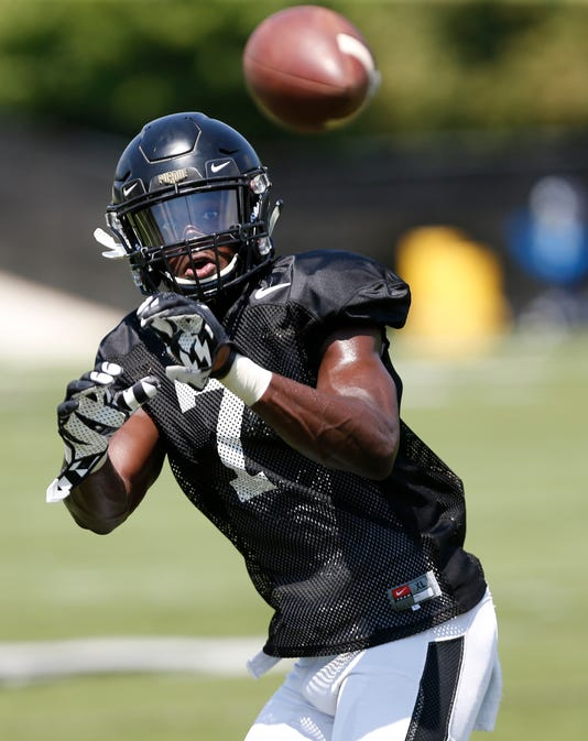 Laf Sunday At Purdue Football Practice