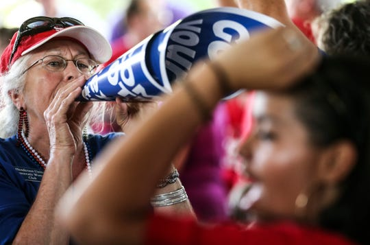Teachers made their voice heard as they heckled Republican politicians at the annual Fancy Farm Picnic this year, but their ire didn't carry over to the midterm elections in November.