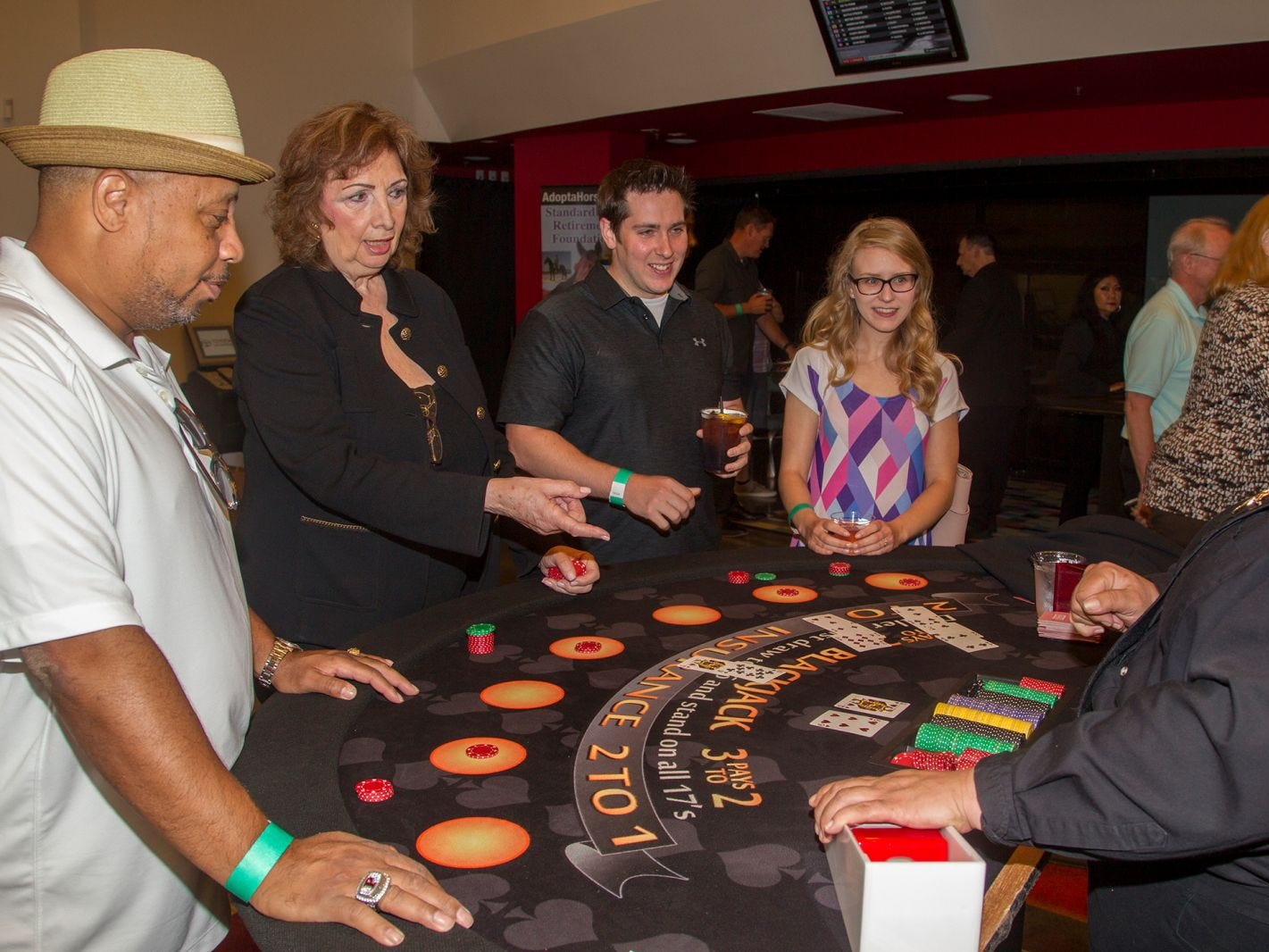 Meadowlands Racetrack hosted its Hambletonian Party in East Rutherford. The casino charity night featured poker, casino games, auctions, and raffles. 08/03/2018