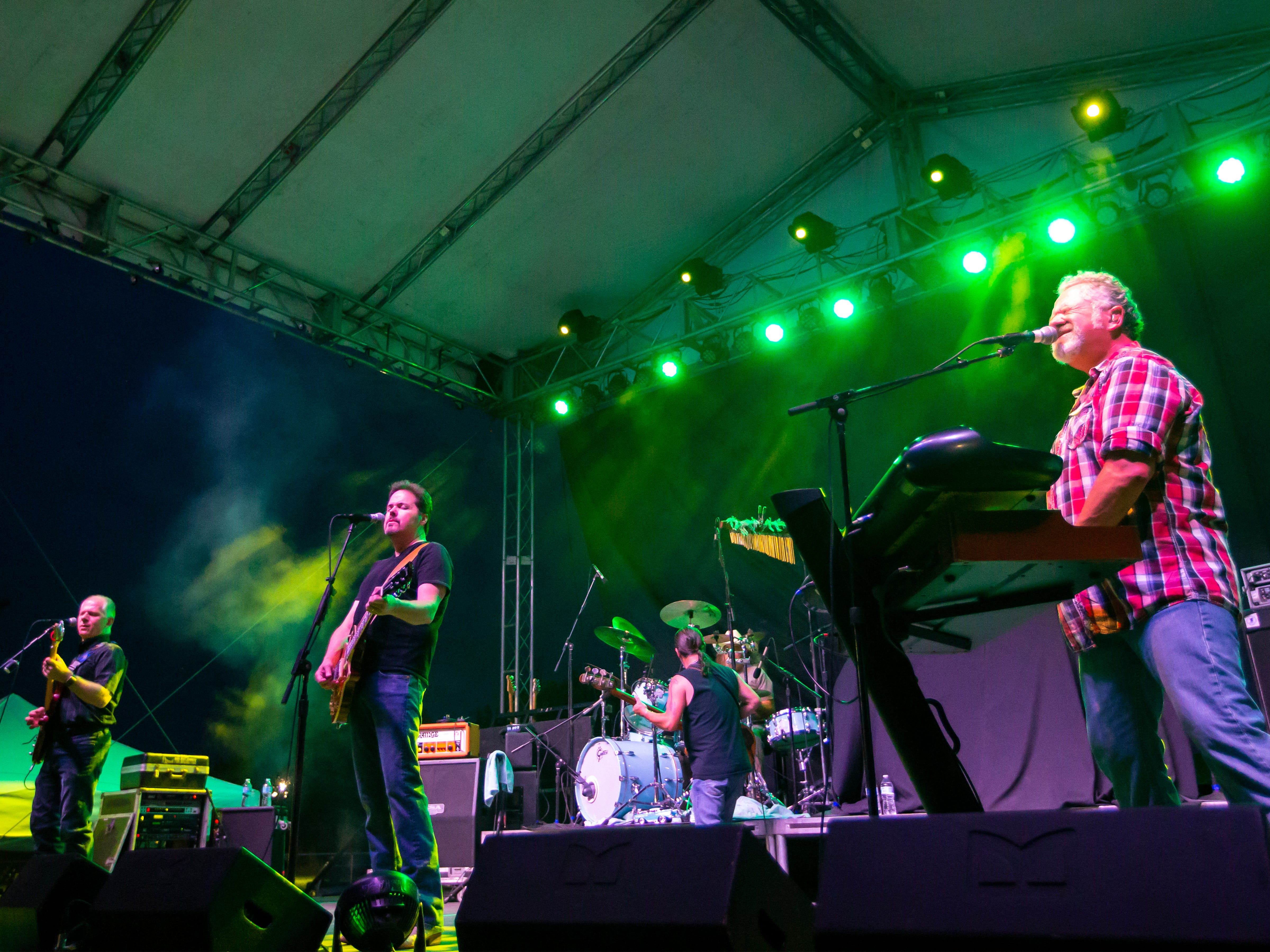 The Kentucky Headhunters perform during the Winnebago County Fair on Saturday, Aug. 4, 2018.