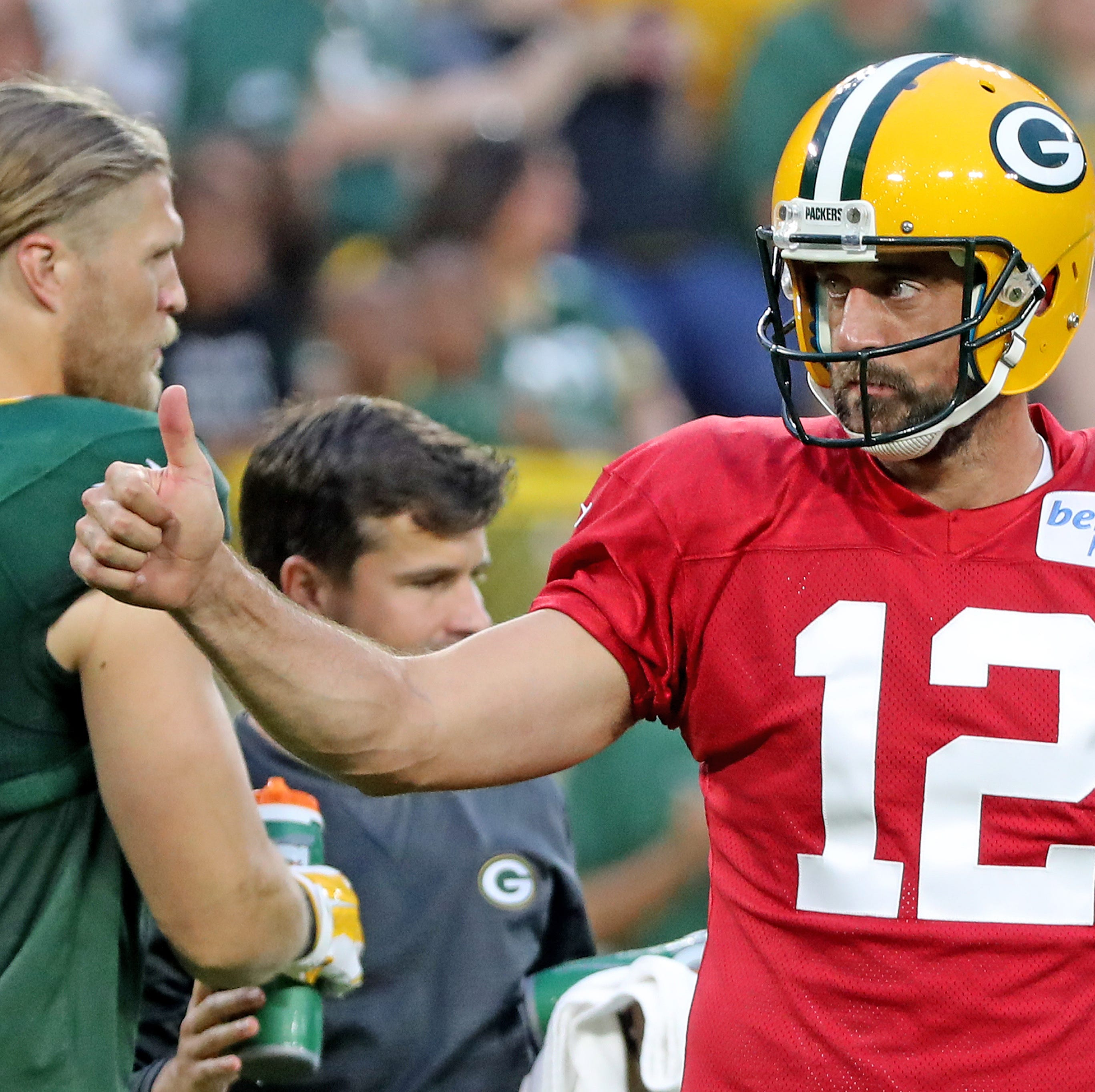 Packers' Aaron Rodgers sees benefits in playing Thursday in home exhibition