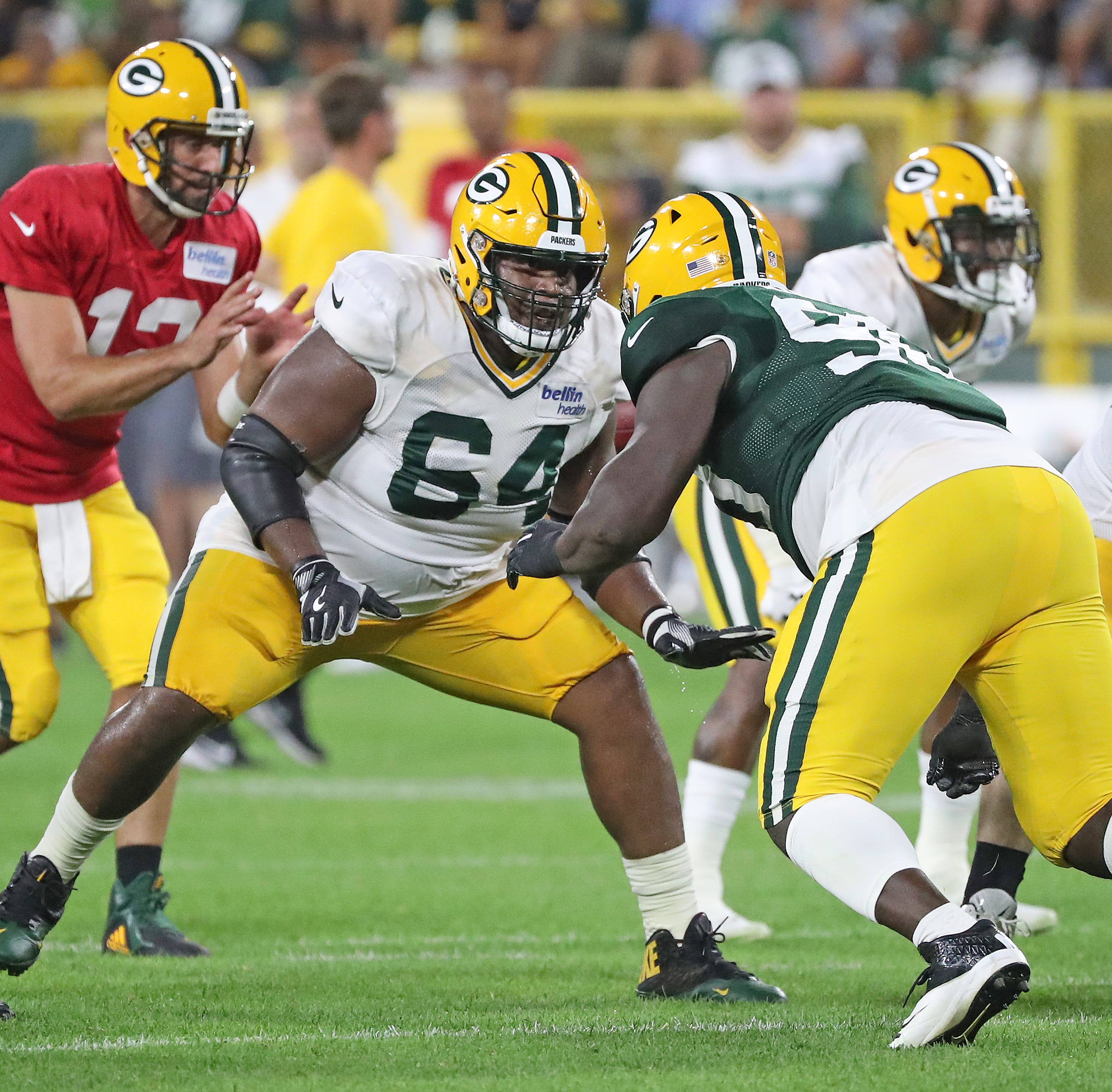 Packers notes: Justin McCray following familiar path to starting guard spot