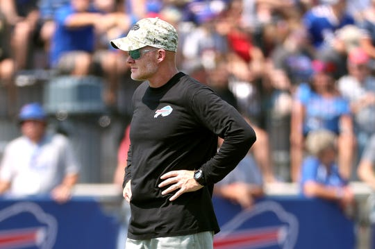 Bills coach Sean McDermott has a big decision to make on his starting quarterback.