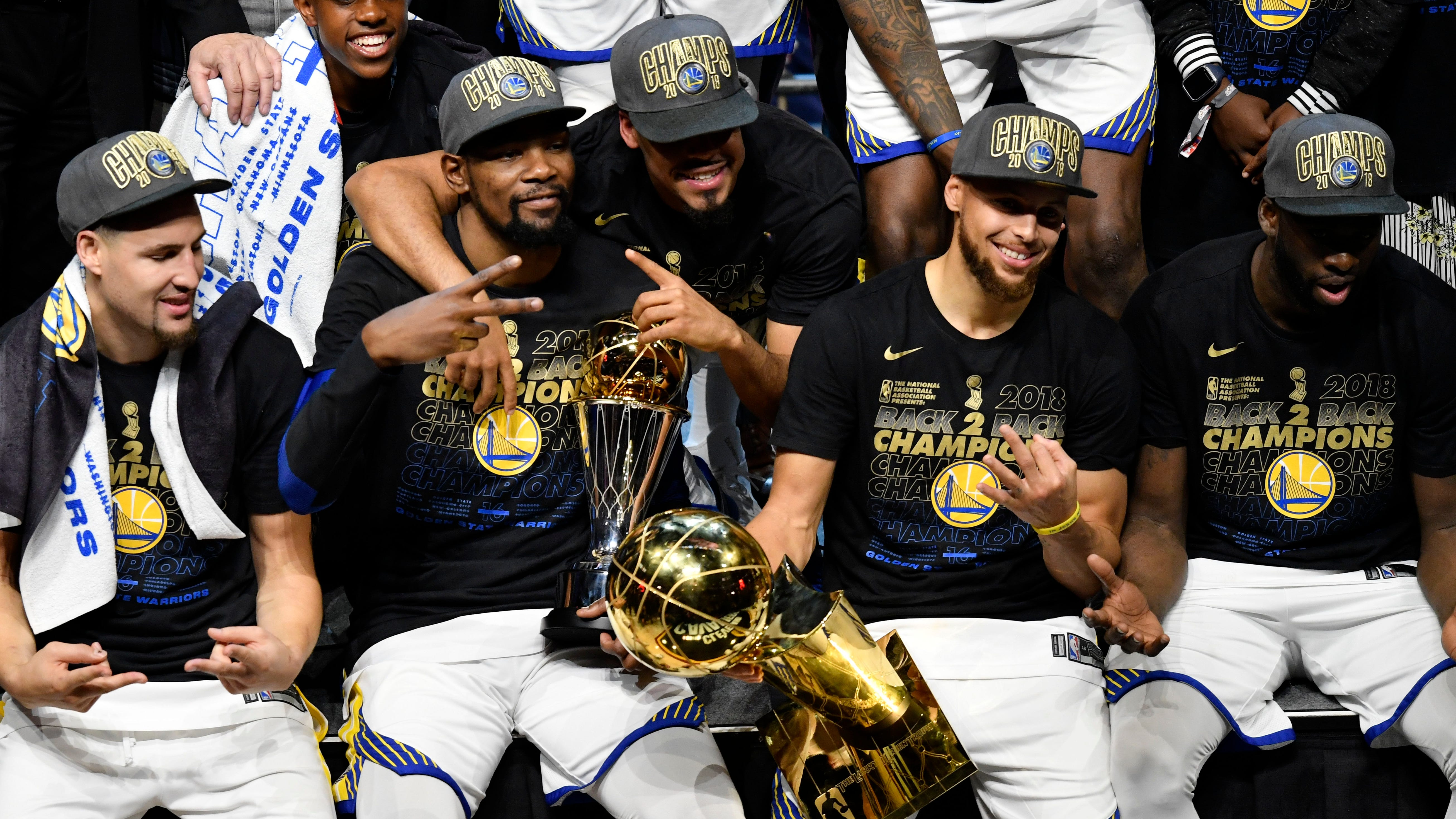 The champions Warriors unsurprisingly lead the league in the Westgate's first win totals, but the sportsbook is also bullish on the new-look Lakers.